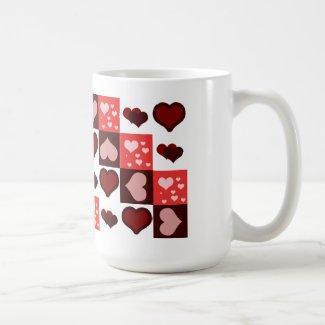 Demasiado amor taza básica blanca