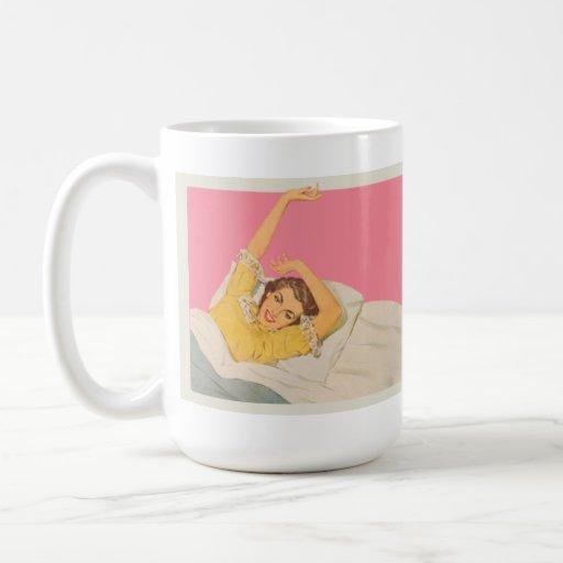 Demasiado bonito trabajar taza de café
