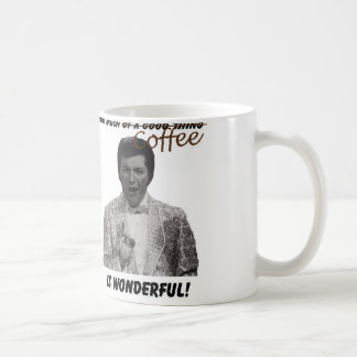 ¡Demasiado café es maravilloso! Taza De Café