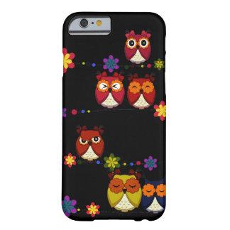 Demasiado caso lindo del iPhone 6 de los búhos Funda Barely There iPhone 6