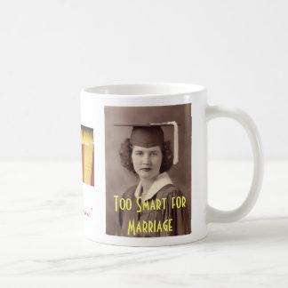 Demasiado elegante para la boda taza clásica