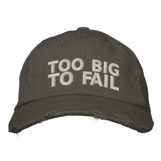 Demasiado grande fallar gorra de beisbol