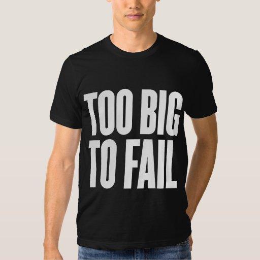 Demasiado grande fallar la camisa