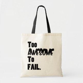 Demasiado impresionante fallar el bolso de la lona bolsa tela barata
