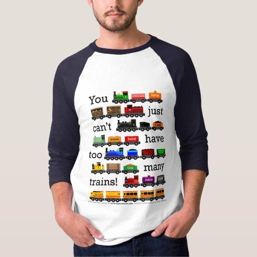 Demasiado jersey de los trenes