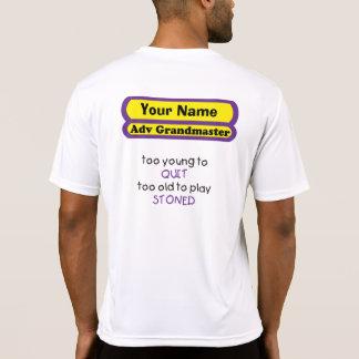 demasiado joven abandonar demasiado viejo para camisetas