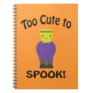Demasiado lindo al espectro - Frankenstein Note Book