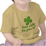 ¡Demasiado lindo pellizcar! Niño/niño Camisetas
