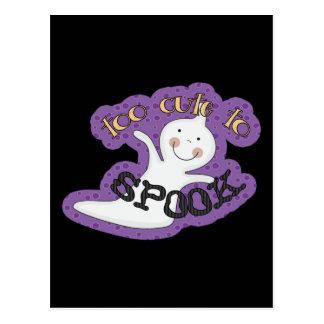 Demasiado lindo Spook el fantasma de Halloween Postales