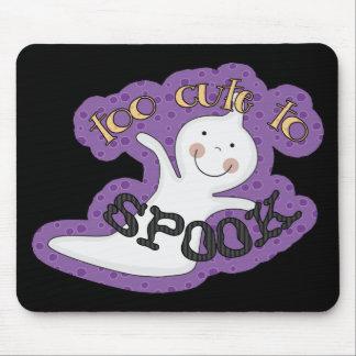 Demasiado lindo Spook el fantasma de Halloween Tapetes De Ratones