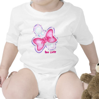 Demasiado lindo traje de bebé