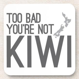Demasiado malo usted no es KIWI (NUEVA ZELANDA) Posavaso