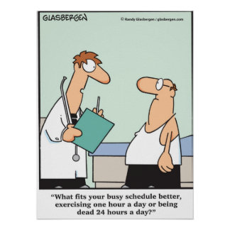 ¿Demasiado ocupado al ejercicio? Poster