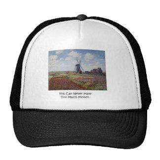Demasiado sombrero del casquillo de Monet Gorra