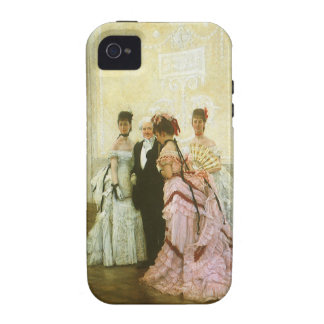 Demasiado temprano por James Tissot, arte del iPhone 4/4S Fundas
