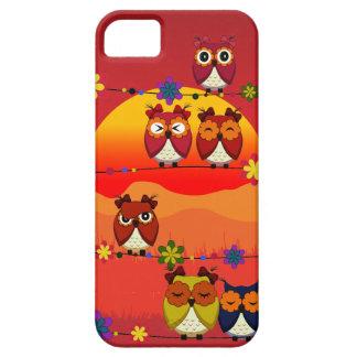 Demasiados búhos lindos funda para iPhone SE/5/5s
