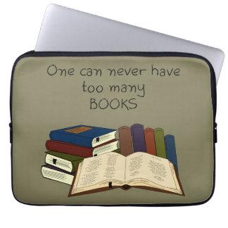 ¡Demasiados libros?! - Cambie el color Fundas Ordendadores