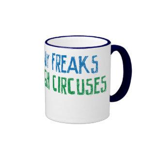 Demasiados monstruos no bastantes circos tazas de café