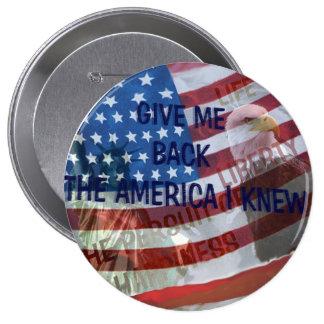 ¡Déme detrás mi América! Pins
