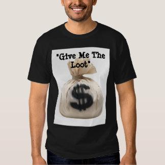 """""""Déme el botín """" Camisas"""