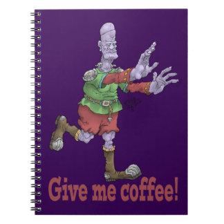 ¡Déme el café! Cuaderno