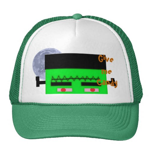 ¡Déme el caramelo! Gorra del monstruo de Frankenst