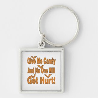 Déme el caramelo que nadie conseguirá lastimado llaveros