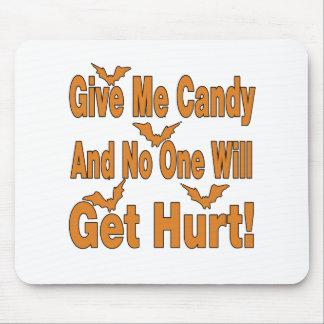Déme el caramelo que nadie conseguirá lastimado tapete de ratones