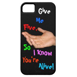 DÉME el caso CINCO iphone5 Funda Para iPhone 5 Barely There