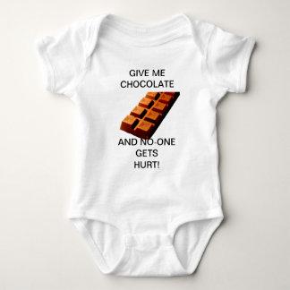¡DÉME EL CHOCOLATE!! PLAYERAS