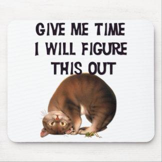 Déme el tiempo - gatito al revés Mousepad