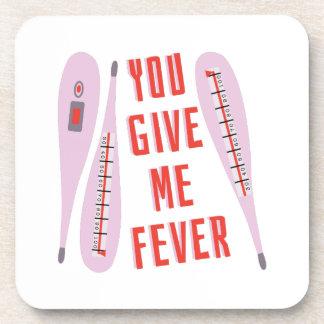 Déme la fiebre posavasos