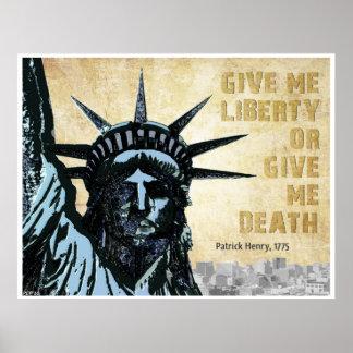 Déme la libertad impresiones