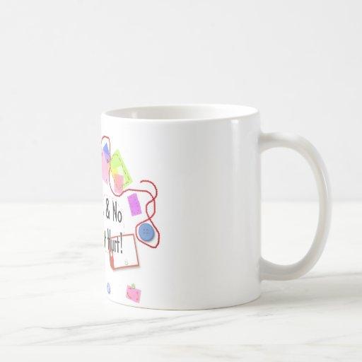 Déme sus imágenes y nadie consigue daño taza de café