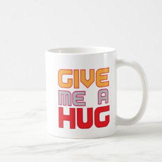 déme un abrazo tazas