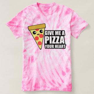 Déme una pizza su corazón polera