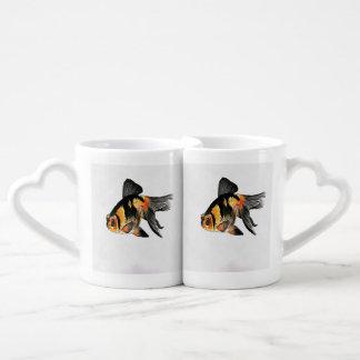 Demekin Goldfish Isolated Coffee Mug Set