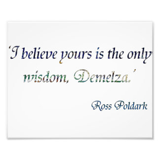 Demelza Poldark Photo Print