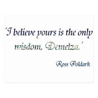 Demelza Poldark Postcard