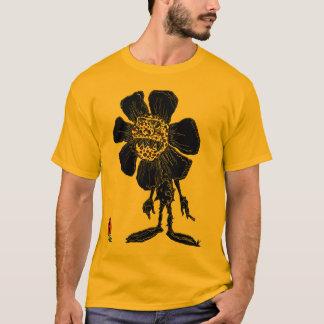 Demented sunflower t shirt carrot