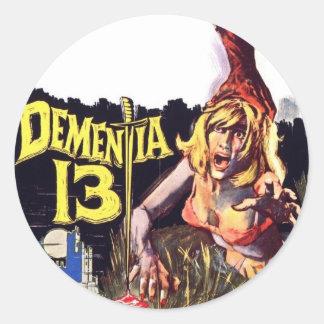 Dementia 13 Sticker