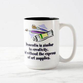 Dementia vs Creativity Mug
