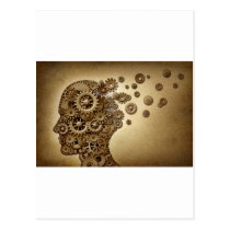 Dementisa-Brain-Problem Postcard