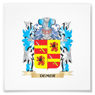 Demer Coat of Arms - Family Crest Photo