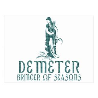 Demeter Postcard
