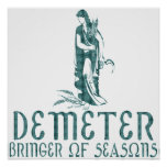 Demeter Póster