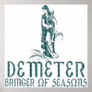Demeter Print