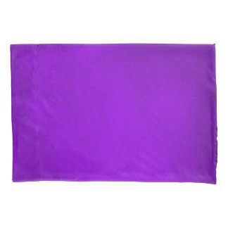 Demeter Purple Grunge Airbrush Art Pillow Case