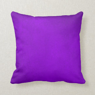 Demeter Purple Grunge Plush Throw Pillow