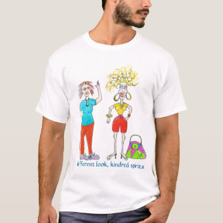 demi_W_betty_Paint, different look, kindred spi... T-Shirt